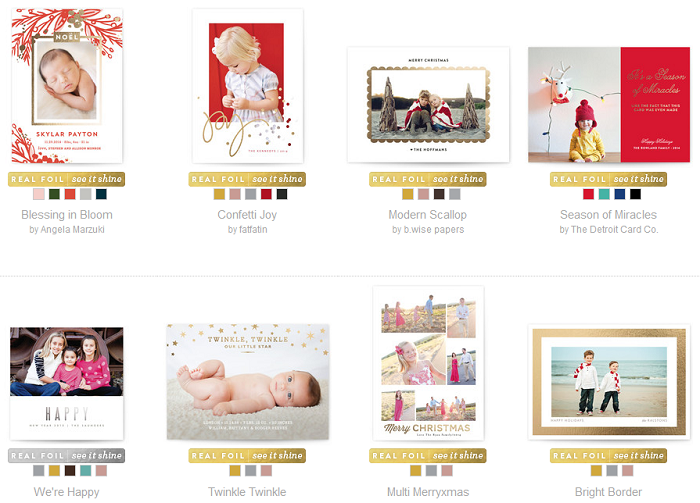 http://www.minted.com/holiday-photo-cards?of=no&printing_type=foil_pressed&sort=popular_asc&all=true&limit=180