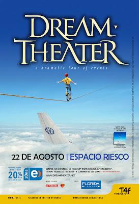 Dream Theater Santiago Chile 2012