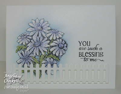 "ODBD ""Daisy"" and ""Flourished Verses"" Designer Angie Crockett"