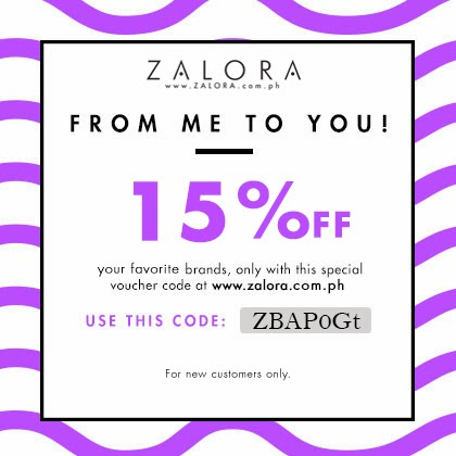 As a Zalora Ambassador, here's a treat!