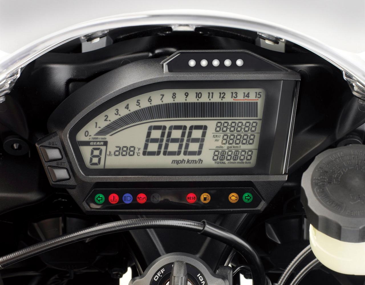 2012 honda cbr 1000rr tachometer