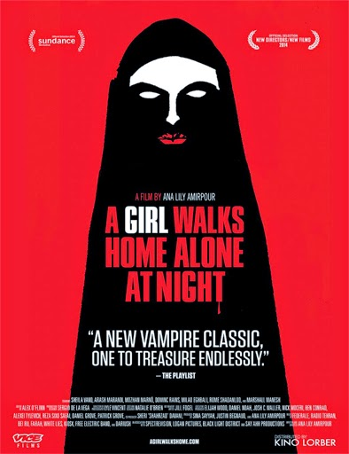 Ver A Girl Walks Home Alone at Night (2014) Online