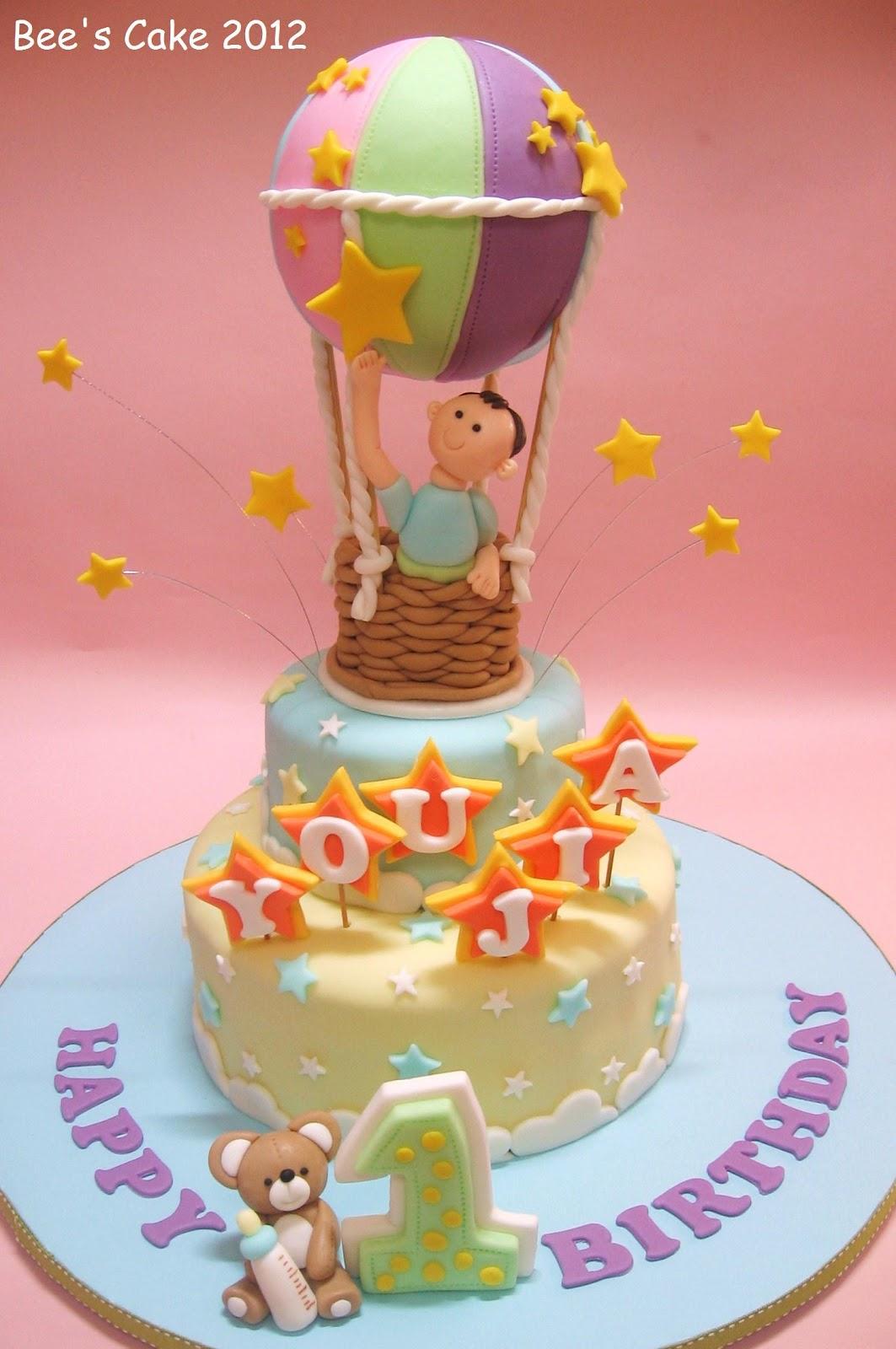 Bee S Cake Flying High
