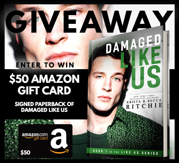 Damaged Like Us Book Blitz