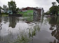 Efecto inundación en Bs.As.