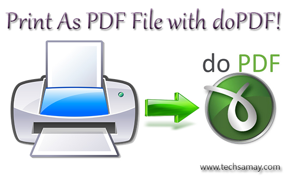 Print as PDF using doPDF