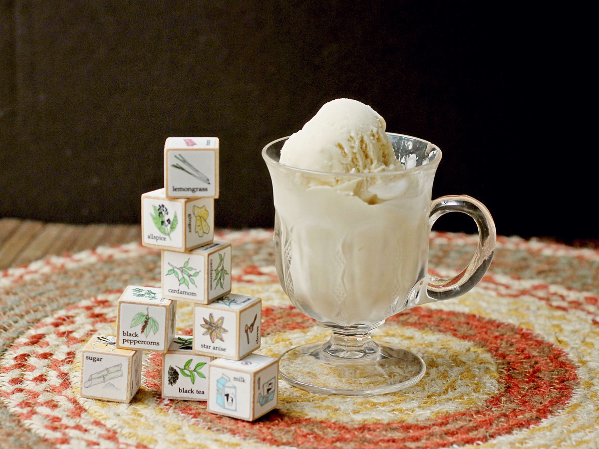 Cookistry: Chai Ice Cream