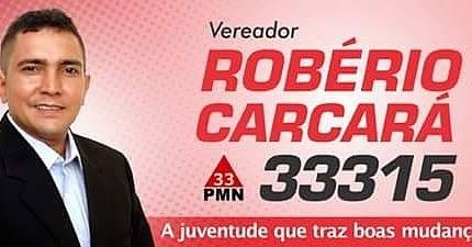 Em Fortaleza indico Robério para Vereador!