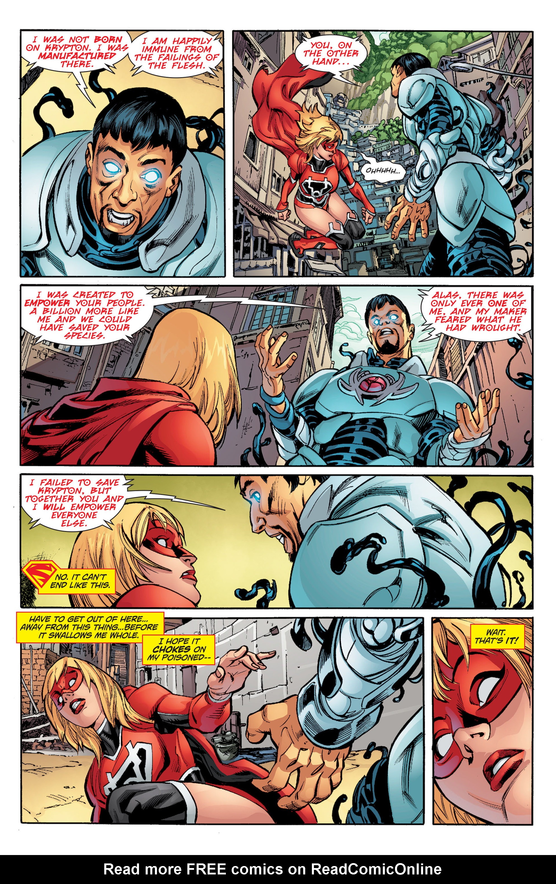 Supergirl (2011) Issue #33 #35 - English 9
