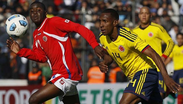 Colombia vs Costa Rica en vivo