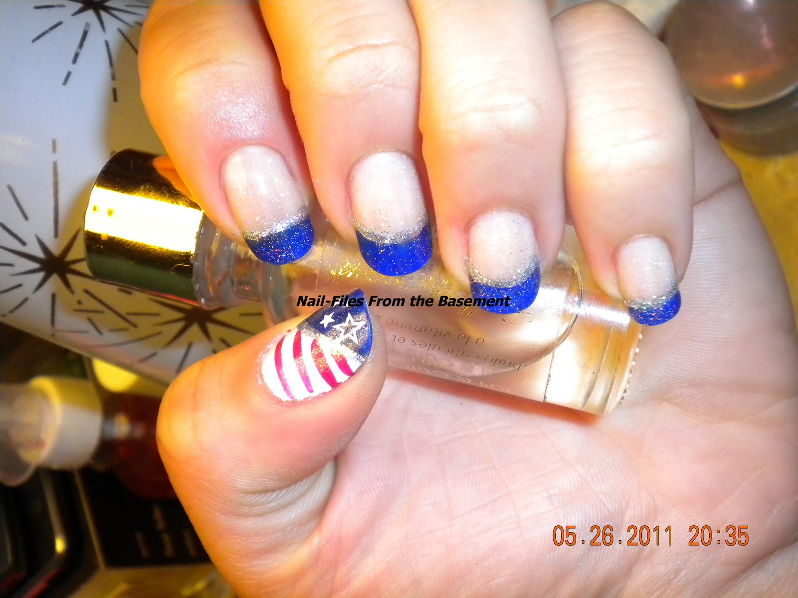 Fun Nail Art Design for Memorial Day : Everything About Fashion Today!