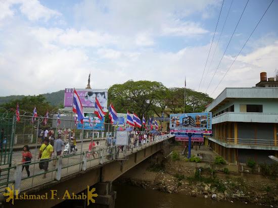 Mae Sai Bridge, Mae Sai, Thailand
