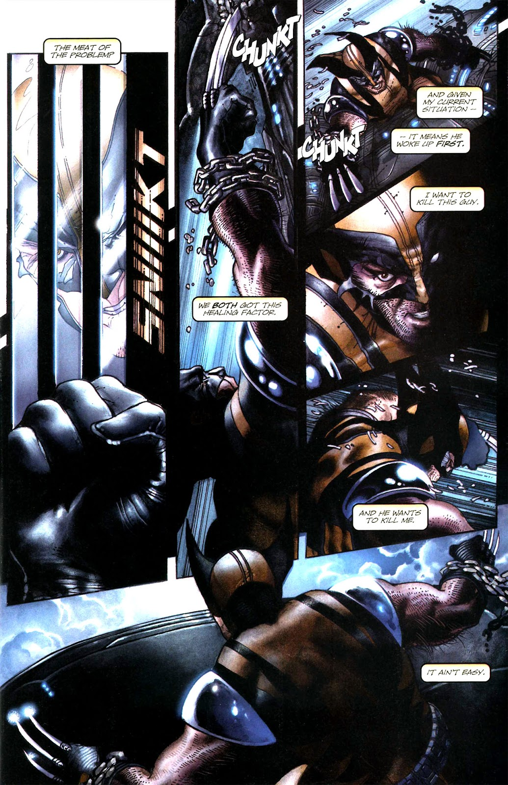 Read online Wolverine (2003) comic -  Issue #51 - 7