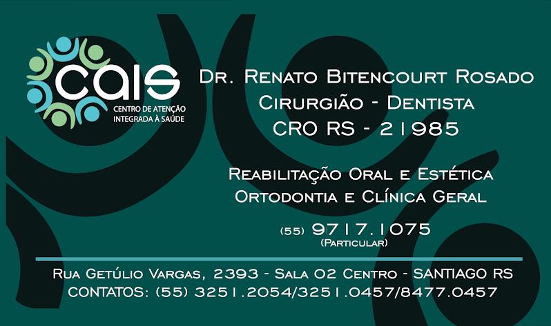 Cirurgião Dentista Dr. Renato B. Rosado