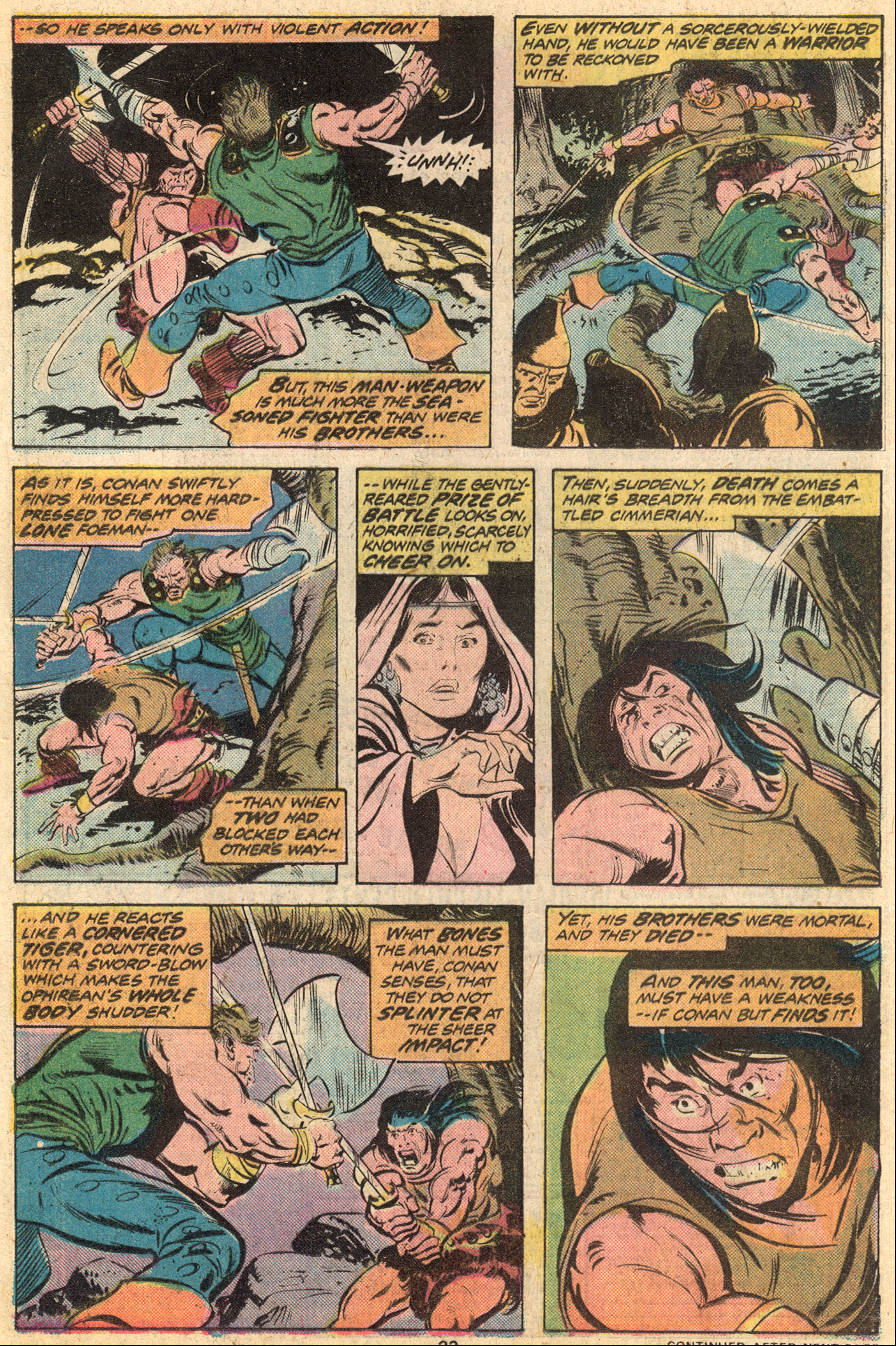 Conan the Barbarian (1970) Issue #53 #65 - English 15