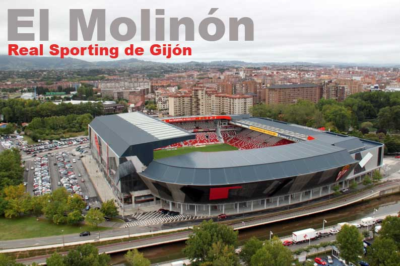 Foto a rea de el molin n en gij n sporting de gij n - Fotos del sporting de gijon ...