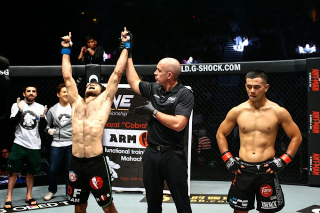 Marat Gafurov wins Ev Ting ONE FC 27 featherweight