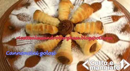 Cannoncini golosi ricetta da cotto e mangiato di tessa for Ricette di cotto e mangiato