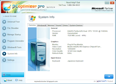 PC Optimizer Pro 6.5.2.4 Full Version (Crack + Keygen)