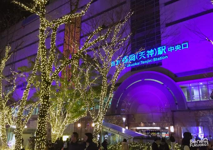 Tenjin, Fukuoka Illuminations 2014