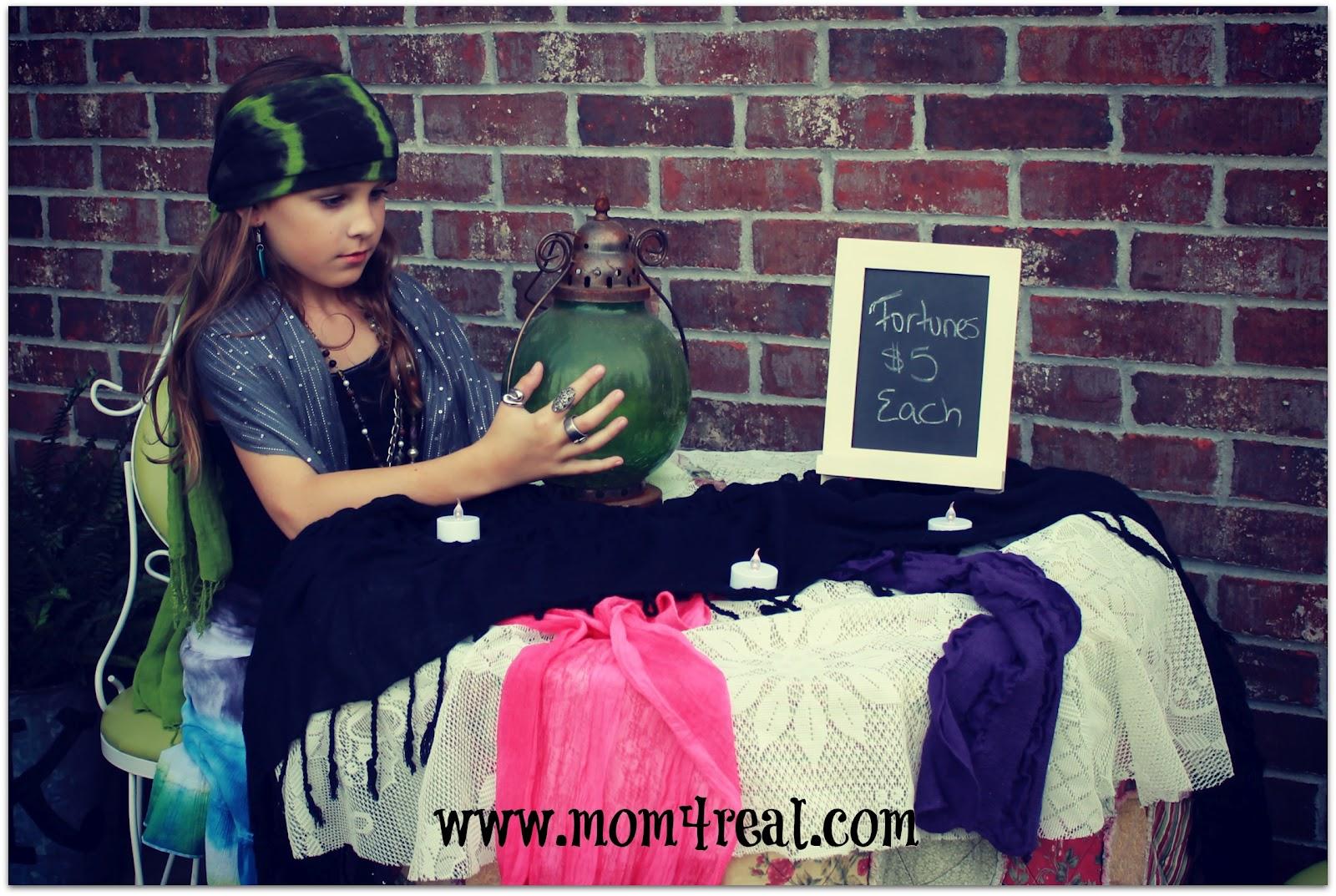 Make A Fortune Teller Halloween Costume Mom 4 Real
