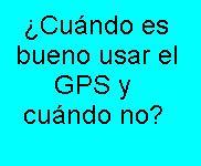 GPS, Usar, Comprar, Tecnología