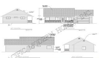 Pacific Modern Homes completes the full structural engineered drawings