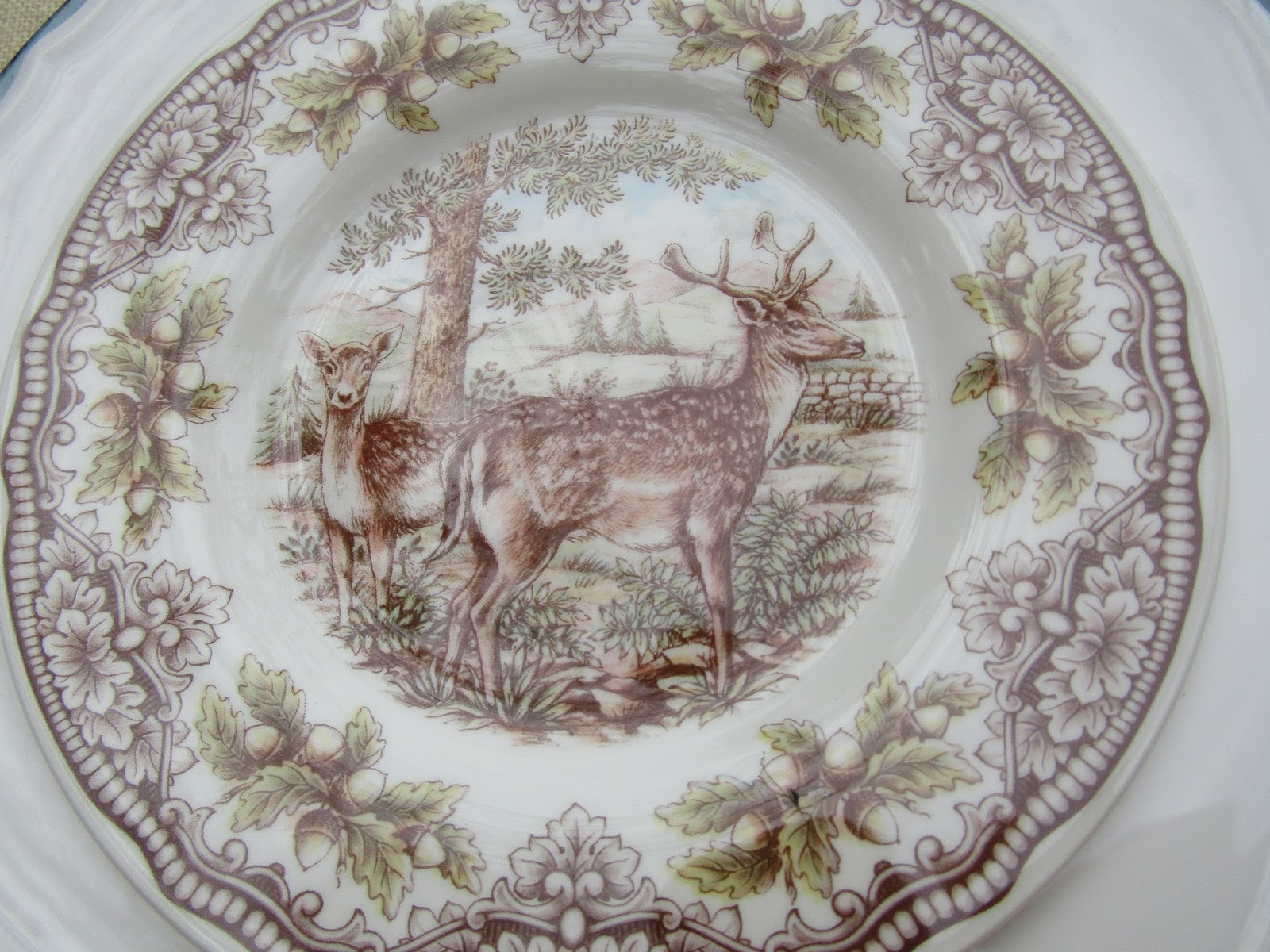 A Toile Tale Two Fall Luncheons In The Garden