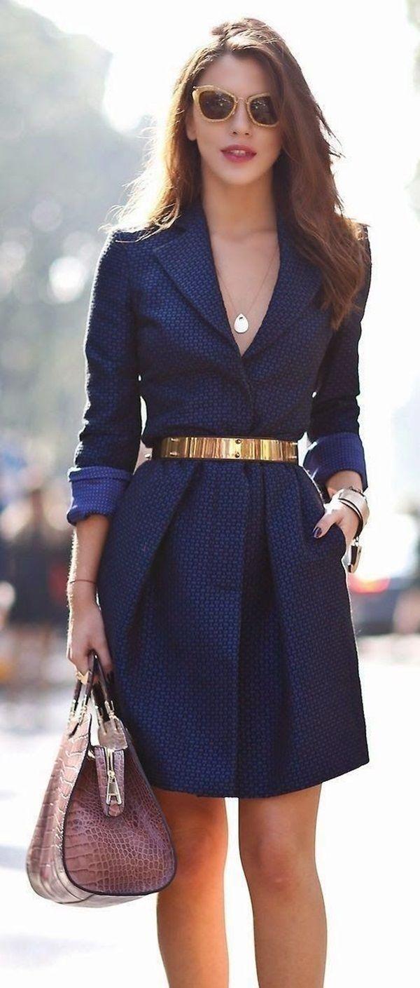 Robe c et a bleu