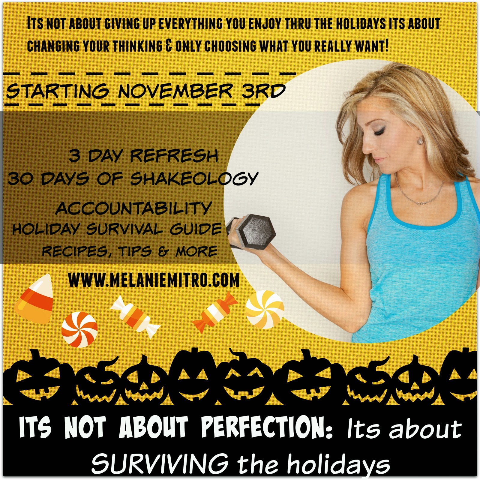 Halloween Detox, Tips for Halloween, Clean Eating, Melanie Mitro