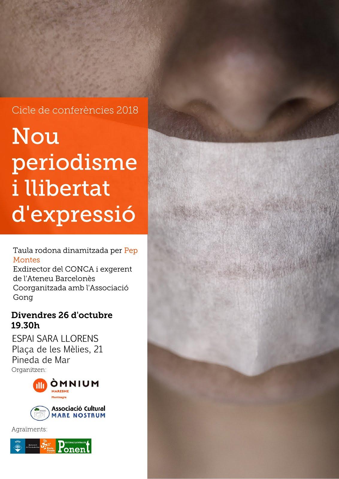 CONFERÈNCIA 26 D'OCTUBRE