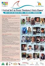 I FESTIVAL INTERNACIONAL DE POESÍA DE BENIDORM 2016