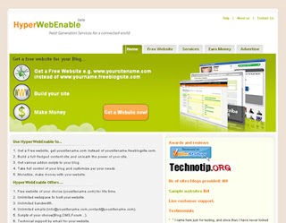 Get Free Website For Free With Free Hosting