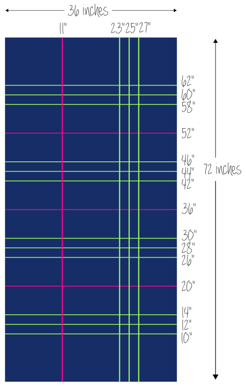 Embroidered Plaid Scarf diagram
