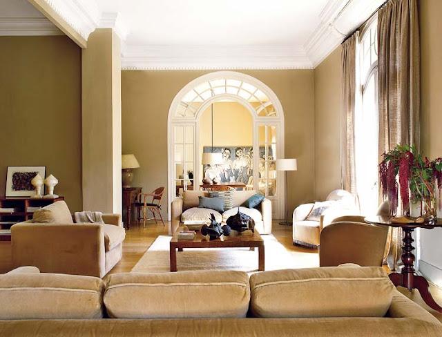 elegant living room home decorating ideas neutral decor velvet sofa
