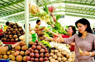 pasar mandiri di Bintaro Jaya The Professional's City - Perumahan jakarta selatan