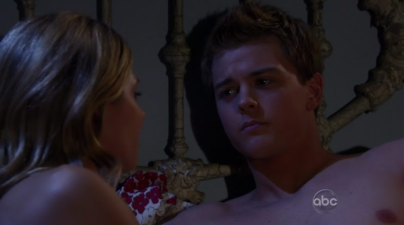 Chad Duell Shirtless on General Hospital 20110329