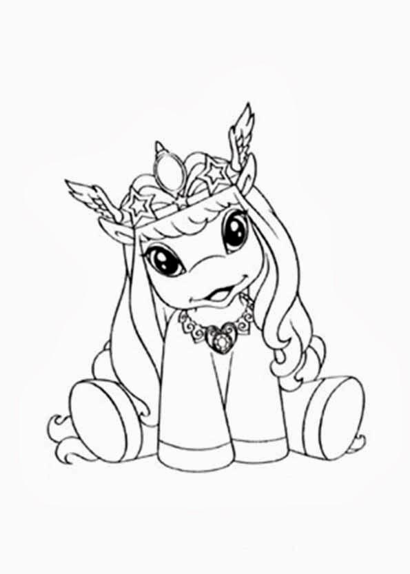 filly pferde malvorlagen zum ausdrucken - Filly Pferde Ausmalbild - Ausmalbilder für Kinder