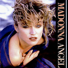 Angel - vinyl single sleeve front by Madonna