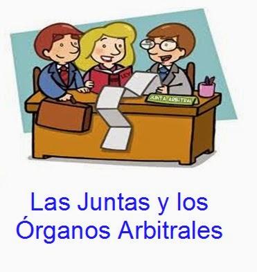 las-juntas-y-los-organos-arbitrales