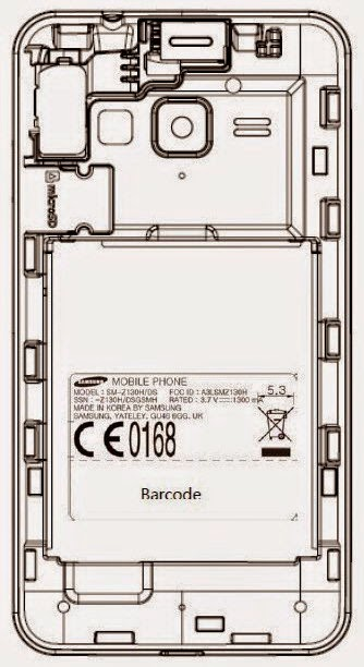 هاتف سامسونج زد 1 بنظام تايزن 2.3 Samsung Z1 Tizen.