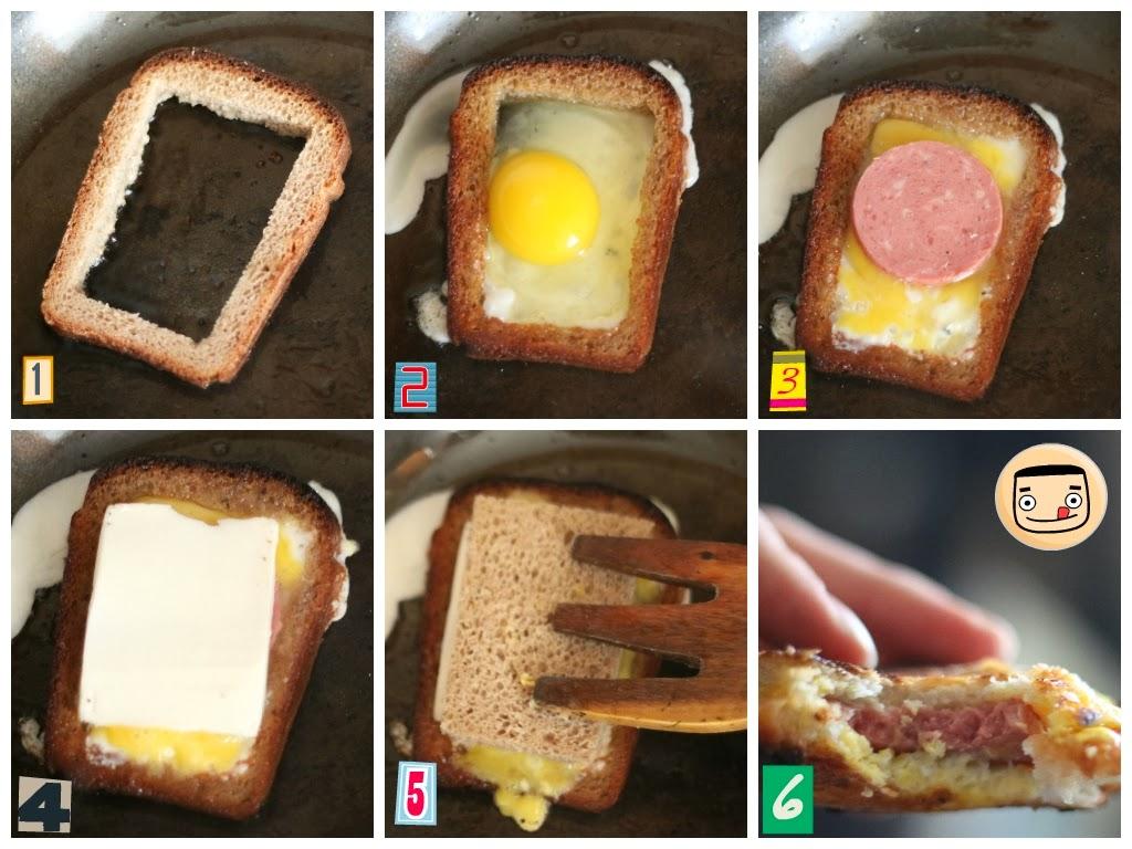 Быстрые бутерброды в микроволновке рецепт