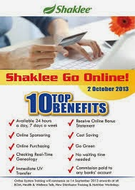 Shaklee Go Online