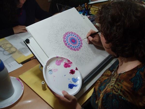 taller de mandalas, como pintar mandalas