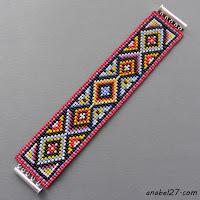 схемы бисер бисероплетение феньки фенечки узоры ткачество