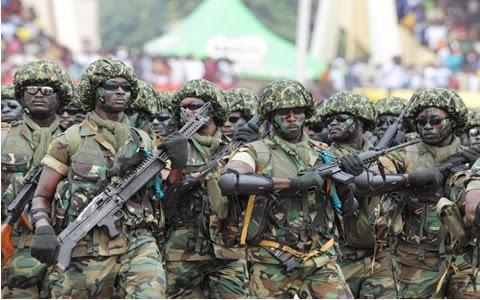World Military and Police Forces: Ghana | 480 x 300 jpeg 50kB