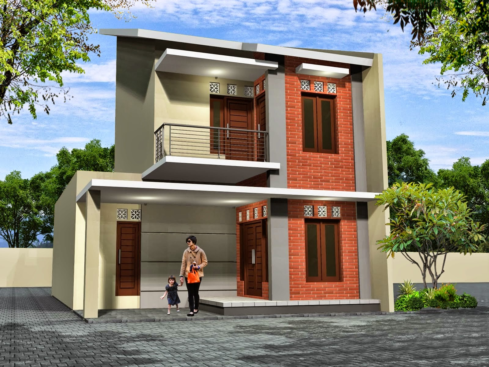 Model Rumah Minimalis Type 45