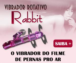 Vibrador Rotativo Rabbit - Massageia o clitóris, a vagina e o Ponto G