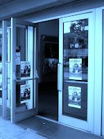 Doors to Genesis Cinema; photo by Val Phoenix