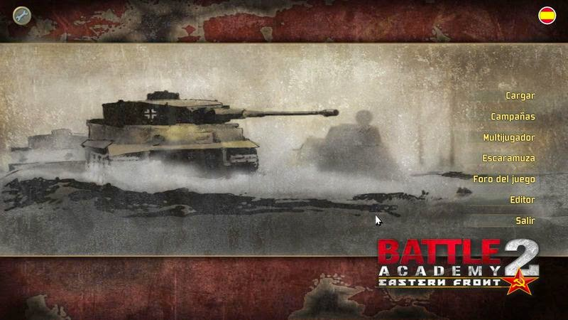 Battle Academy 2: Eastern Front Multilenguaje (Castellano)